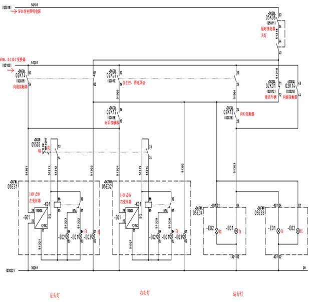 地铁控制电路电器