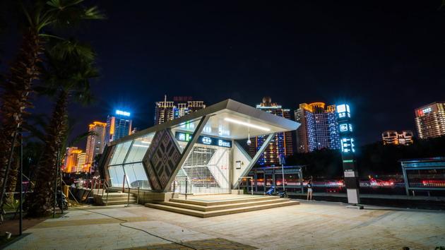 广州地铁设计院负责勘察设计总承包的深圳地铁9号线人民南站站厅